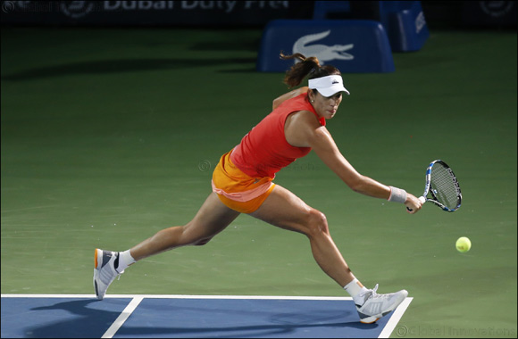 Garbiñe Muguruza Hungry for Success at Dubai Duty Free Tennis Championships