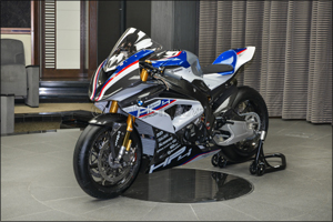 The new BMW HP4 RACE arrives at Abu Dhabi Motors �  one of just 750 built