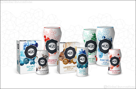 NEZO launches new identity to guide consumers in selecting the best salt for their culinary delights