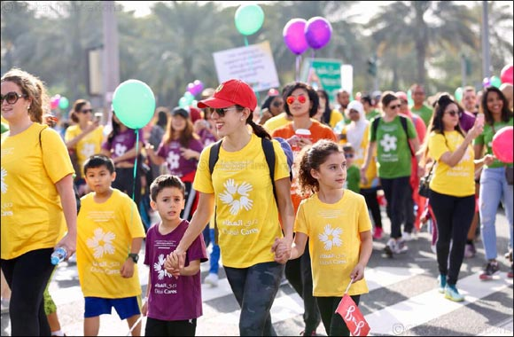 15,000 participate in the Dubai Cares' annual Walk for Education 2018 in support of children's right to education