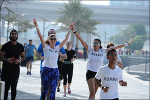 Dubai Festival City marks successful first ever  Nike+ Run Club edition