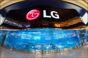 �World Record� created by the LG OLED Video Wall recognized as �Best use of Projection/Display Solut ...