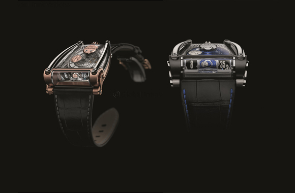 MB&F + Sarpaneva MoonMachine 2  - a new timepiece in three limited editions