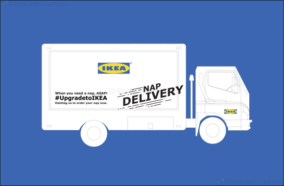 Catch Some Zzz's in the IKEA Nap Truck