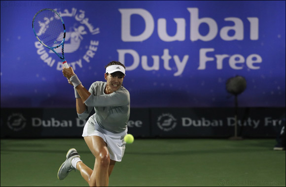 Marathon Day Sees Top Seeds Reach Quarter-finals at Dubai Duty Free Tennis Championships