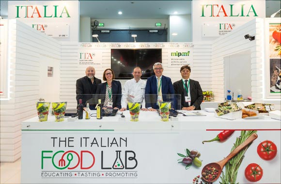 The 'Italian Food Lab' at Gulfood Enables Italian Companies to Tap Into the Usd 130 Billion Gcc F&b Market