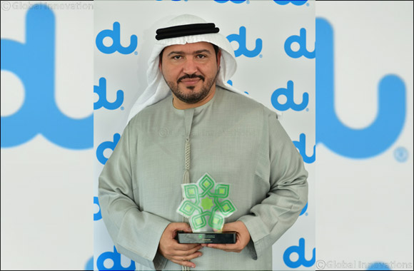 du Recognised for CSR Initiative at 2018 Gulf Sustainability and CSR Awards