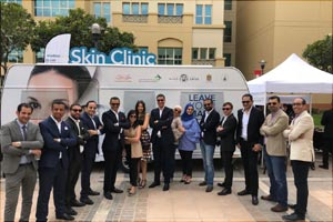 Galderma's �Leave Your Mark� Mobile Clinic heightens awareness of skin diseases amongst youth