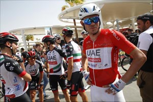 Kristoff Gets Top 10 Finish After Meeting Fans Ahead of Stage Two on Abu Dhabi Tour
