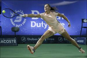 Kasatkina Upsets Muguruza to Play Svitolina in Final of Dubai Duty Free Tennis Championships