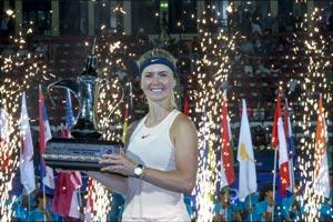 Svitolina Beats Kasatkina to Win Dubai Duty Free Tennis Championships