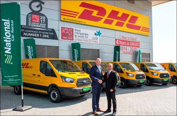 Ford Transit Vans to Power DHL Express in UAE