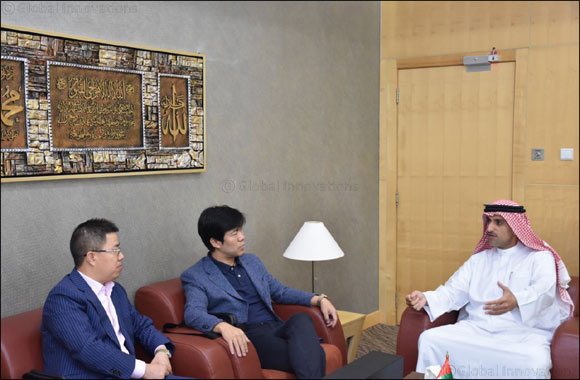 Chinese delegation discusses areas of cooperation with Expo Centre Sharjah