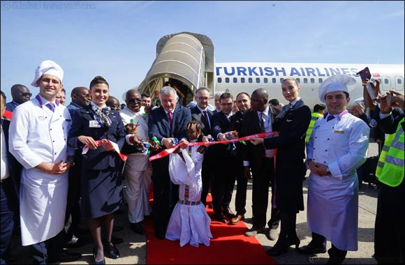 Turkish Airlines started flights to Freetown, as its 52nd destination to be served in Africa.