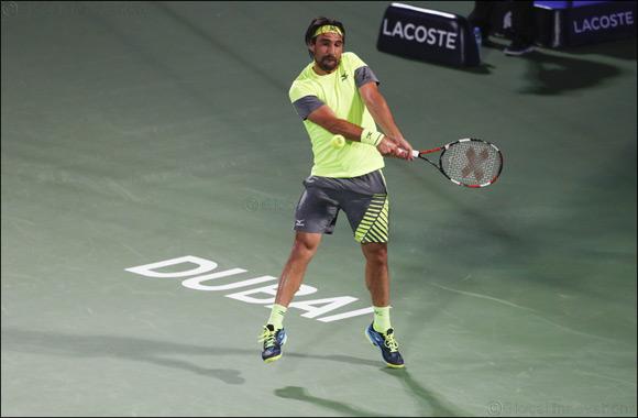 Marcos Baghdatis Makes a Winning Start at Dubai Duty Free Tennis Championships