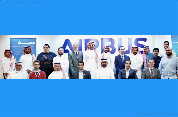 Airbus inspires young Saudi innovators during 'Entaliq in KSA' workshop