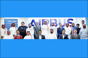 Airbus inspires young Saudi innovators during �Entaliq in KSA' workshop