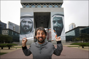 DIFC Serves up a History Lesson to Dubai Duty Free Tennis Championships Players