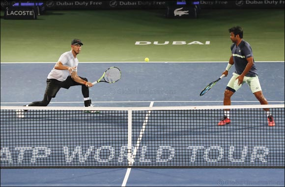 Pouille and Bautista Agut to Contest Final of Dubai Duty Free Tennis Championships