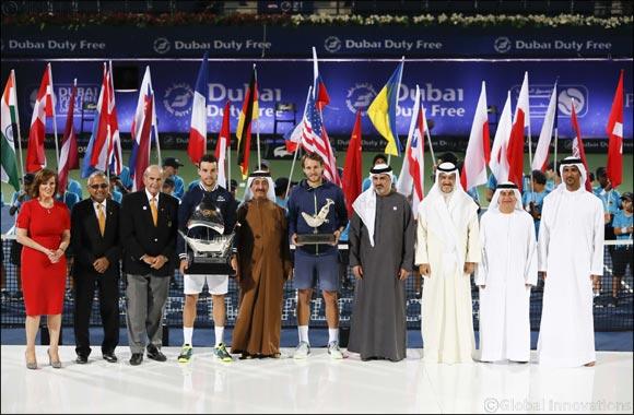Roberto Bautista Agut Beats Lucas Pouille to Win Dubai Duty Free Tennis Championships