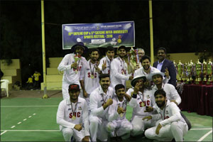 SUC won Cricket and Football during Skyline Inter-University Sports Fest