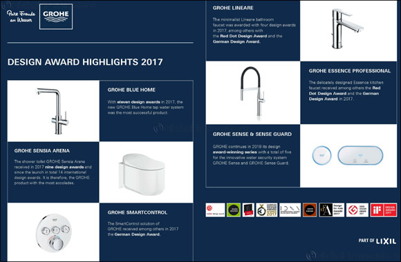 Record year for GROHE Design