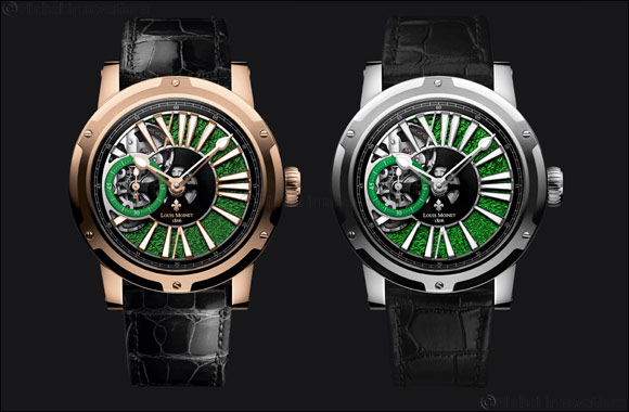 Louis Moinet Metropolis Magic Green: Poetry all in green