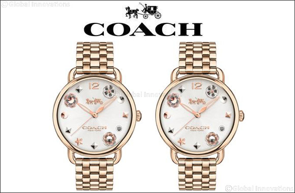 Coach Introduces Delancey Charm Dial collection to celebrate Mother's Day