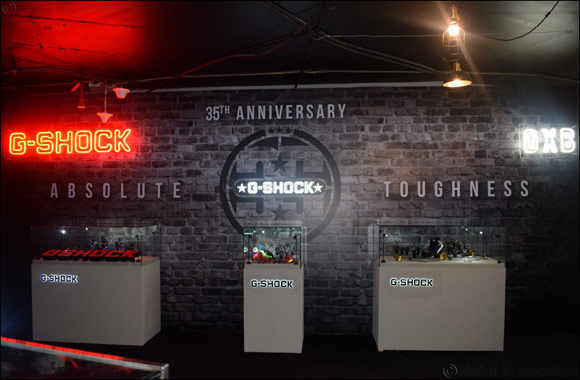 CASIO kicks off with G-SHOCK's 35th Anniversary MENA Tour in UAE