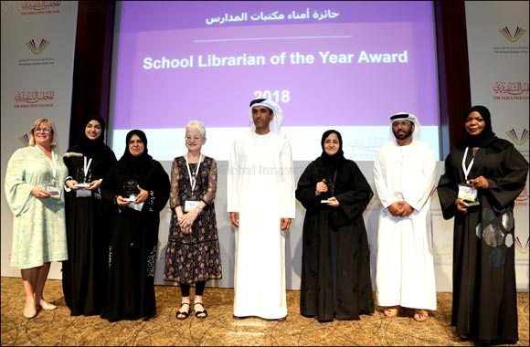 Organized by The General Secretariat of The Executive Council of Dubai and Emirates Literature Foundation Winners of Second School Librarian of the Year Award