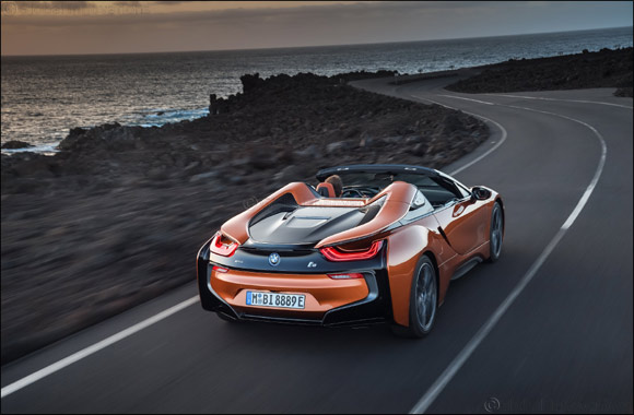 BMW Group Plant Leipzig starts series production of BMW i8 Roadster.