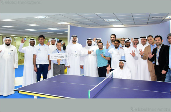 Emirates Post organizes various sports activities as part of the third edition of the UAE National Sports Day