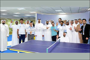 Emirates Post organizes various sports activities as part of the third edition of the UAE National S ...