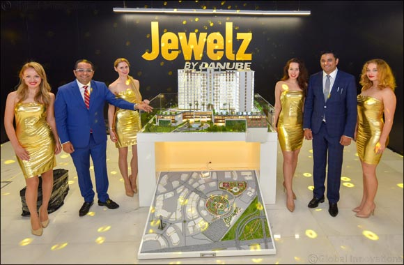 "Danube Properties is all set to sparkle with their latest ""Jewelz""."