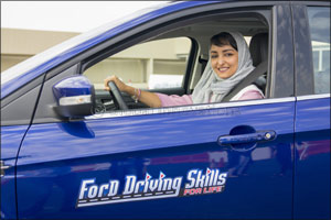Ford and Effat University Further Women Empowerment Efforts with Global Debut of Ford Driving Skills ...