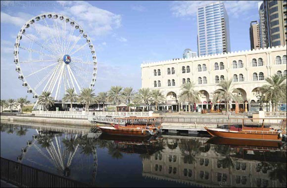 "Sharjah's Icon ""Eye of the Emirates"" Moves to ""Al Montazah Parks"" to Take on New Horizons"