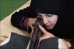 Preps for the Fazza Championships for Shooting  Saktoun Riffle begin on March 11