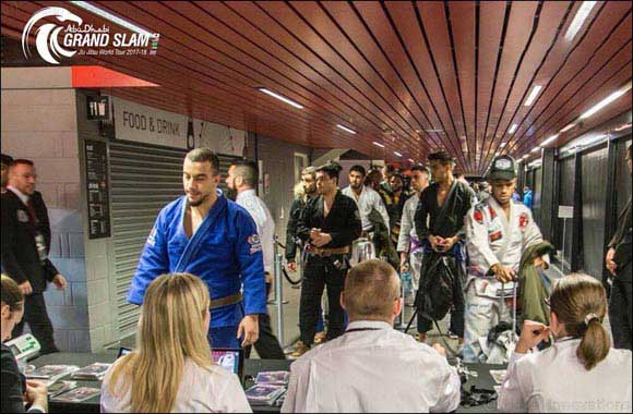 UAE Jiu-jitsu Federation® Conducted the Official Weigh-ins of Abu Dhabi Grand Slam® in London at the Copper Box Arena
