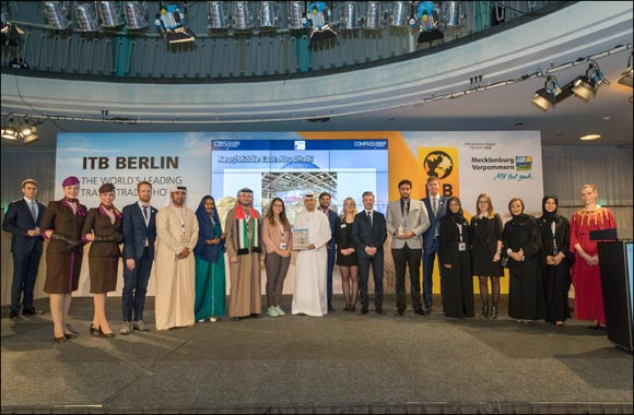 "Abu Dhabi Wins Accolade for 'Best Stand in Middle East Region"" at ITB Berlin"