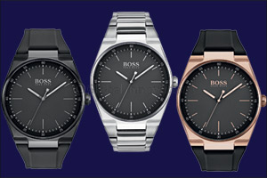 Boss watches presents Magnitude collection � a new angle on time!