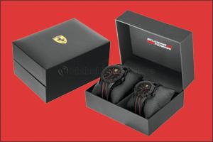 Scuderia Ferrari Father & Son Gift Set