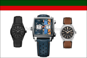 TAG Heuer Continues its Automotive Legacy On & Off the Track with 3 New Contemporary Editions of Tim ...
