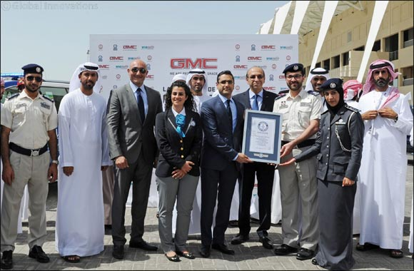 GMC sets a new GUINNESS WORLD RECORDS title in partnership with Abu Dhabi Police