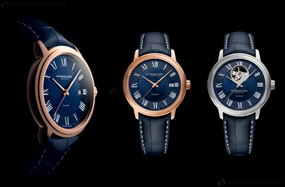 Raymond Weil introduces the Maestro Blues