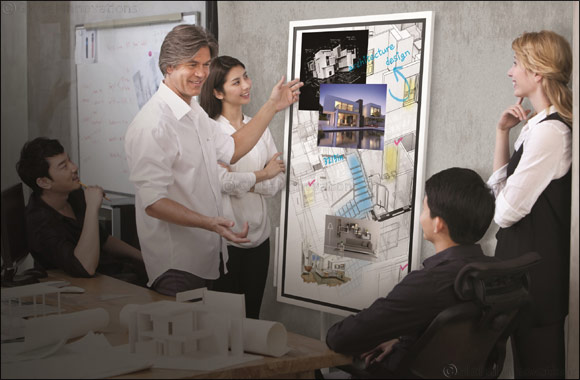 Samsung Transforms the Modern Meeting  with new Interactive Digital Flip Chart and Launches Samsung Flip in the UAE