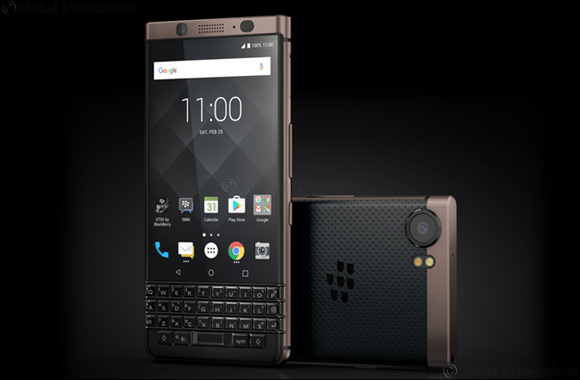 Blackberry® Keyone Bronze Edition Available Now in the Middle East