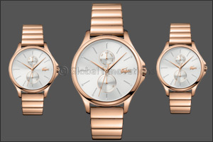 LACOSTE reveals a new feminine watch collection - the Kea family!