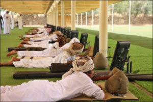Emirati woman grabs first place in women's category of 18th Fazza Open Championship for Shooting