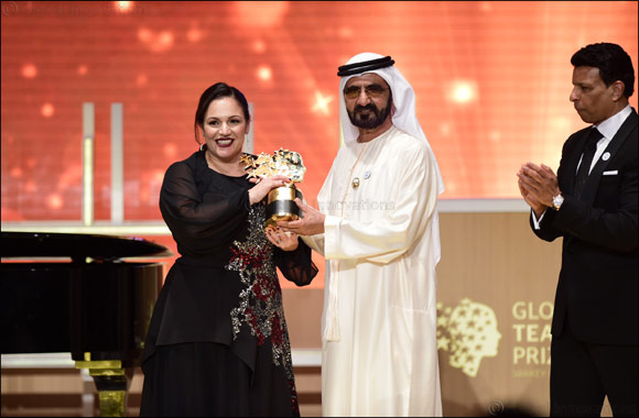 Uk Teacher Andria Zafirakou Wins Us$1 Million Global Teacher Prize 2018