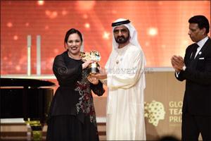 Uk Teacher Andria Zafirakou Wins Us$1 Million Global Teacher Prize 2018